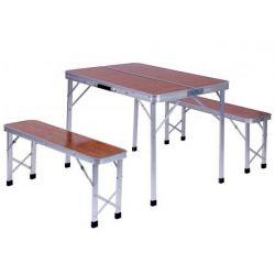 Садовый комплект Дует стол с лавками (АМФ)