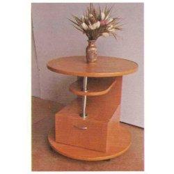 Круглый столик с ящиком Барвинок