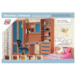 """Набор мебели для детской комнаты """"Веселка"""" с кроватью"""