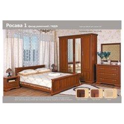 Спальня Росава 1 (рамочный фасад)