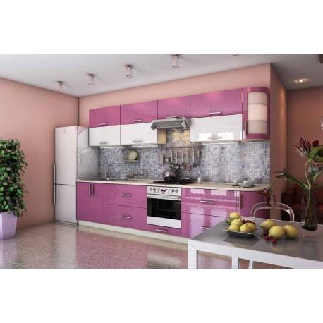 Розовая кухня Гарант Гламур фото