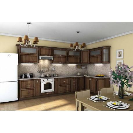 """Кухня """"Платинум"""" угловая, 3850x1800 мм"""