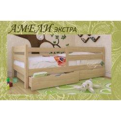 Деревянная кровать для девочки
