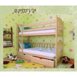 Детская двухъярусная кровать Артур