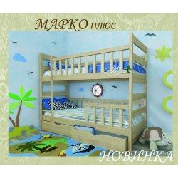 Детская двухъярусная кровать Марко Плюс