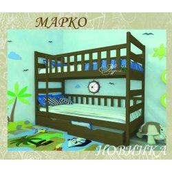 Детская двухъярусная кровать Марко