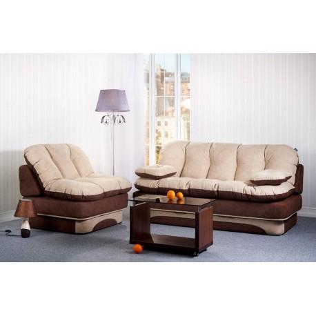 Комплект диван и кресло Люси фото