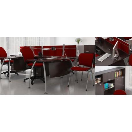 "Угловой стол для персонала ""Техно-плюс"" фото"