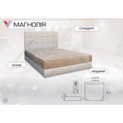 Кровать Магнолия (Вика) фото