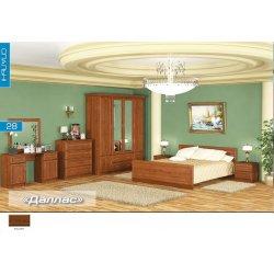 Спальня Даллас (Мебель-Сервис)