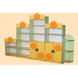 Стенка для детского сада, 5 элементов