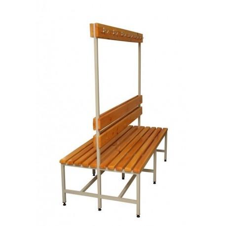 Металлическая двухсторонняя скамейка 2СВ-1000