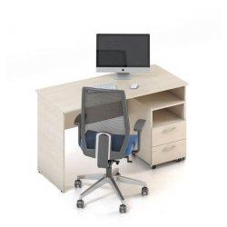 """Стол для персонала """"Сенс"""" с тумбой (M-concept)"""