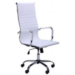 Кресло Slim HB белое (АМФ)