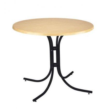 """Стол для кафе """"Соня"""" с черными ножками картинка"""