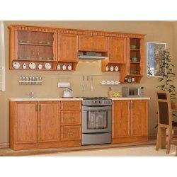 Кухня Каролина набор 2 м + окап (Мебель-Сервис)