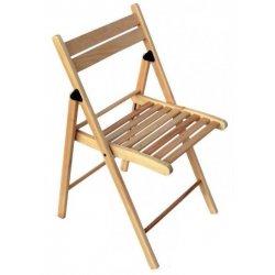 Раскладной деревянный стул