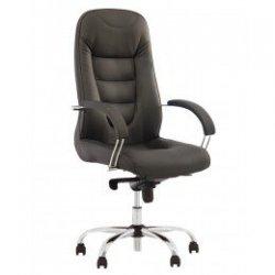 Кресло руководителя Boston / Бостон Steel chrome Comfort (Новый стиль)