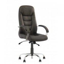 Кресло руководителя Boston / Бостон Steel chrome Comfort+Anyfix (Новый стиль)
