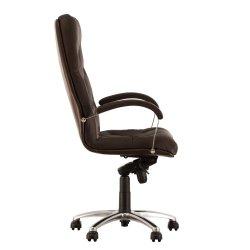 Кресло руководителя Cuba / Куба Steel chrome Comfort (Новый стиль)