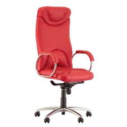 Кресло руководителя Elf / Эльф Steel chrome (Новый стиль)