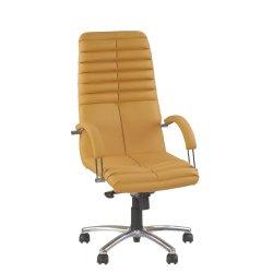Кресло руководителя Galaxy / Галакси Steel chrome (Новый стиль)