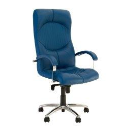 Кресло руководителя Germes / Гермес Steel chrome Comfort (Новый стиль)