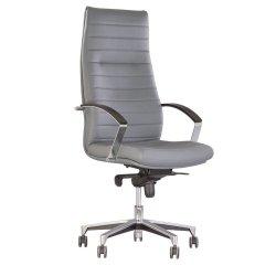 Кресло руководителя Iris / Ирис Steel chrome Tilt (Новый стиль)