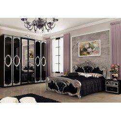 Спальня Реджина Black Silver (Миро-Марк)