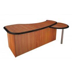 Стол руководителя 1,6 Стар с приставкой для телефона