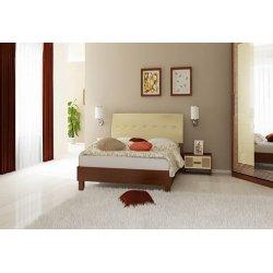 Кровать Виола 140 (мягкая спинка) фото