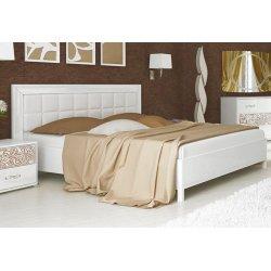 Кровать Флора 180 (профиль и мягкая спинка) фото