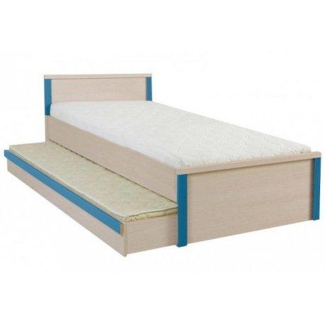 Детская кровать Капс 90 с ящиком и ламелями