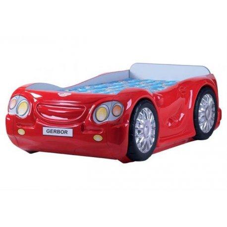 Детская кровать-машинка Лео классик