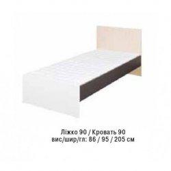 Детская кровать АЛЕКС 90 (односпальная)