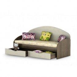 Кровать с ящиками Горизонт