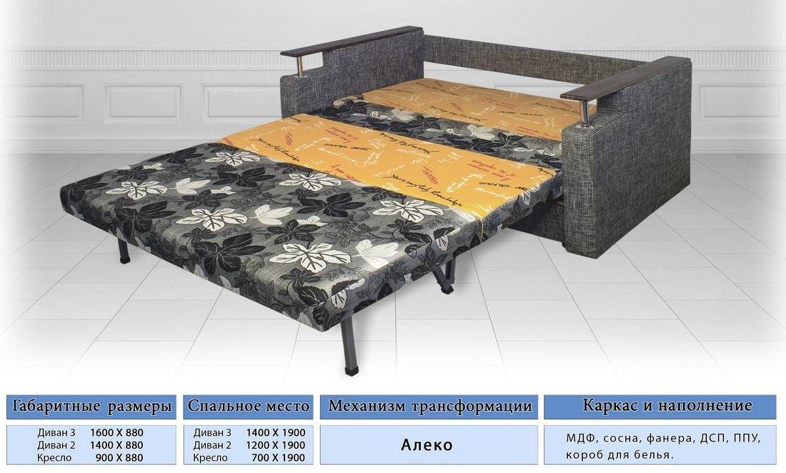 Диван Остин 3 (Виркони) - Интернет-магазин мебели Абрикос Одесса bdbac09963d