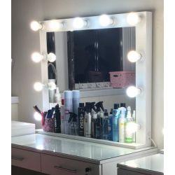 Макияжное зеркало с подсветкой фото