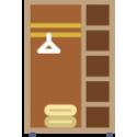 Шкафы-купе с пеналом