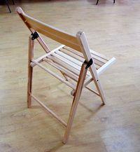 Натуральный цвет стула